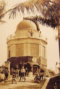 1931 - Observatório astronômico da Escola Politécnica, na Praça Buenos Aires - Bairro de Higienópolis.