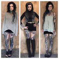 Ryan Ashley Malarkey - I love her style! Style, Women, Cute Outfits, Outfits, Dark Fashion, Outfit Inspirations, Clothes, Alternative Fashion, Fashion