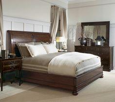 Bernhardt Vintage Patina Bed #bedroom
