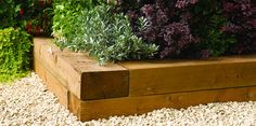 We're delighted to announce our range of brand new FSC garden sleepers. Create your own raised beds, lawn edging and more!
