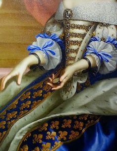 Henriette Anne, Duchess of Orleans, by Jean Nocret, 1660s.