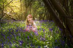 Kids Bluebells Photography