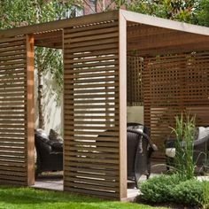 The pergola kits are the easiest and quickest way to build a garden pergola. There are lots of do it yourself pergola kits available to you so that anyone could easily put them together to construct a new structure at their backyard. Pergola D'angle, Building A Pergola, Small Pergola, Pergola Attached To House, Pergola With Roof, Cheap Pergola, Covered Pergola, Pergola Shade, Patio Roof