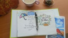 Fall,hello october,organizator ,diary,caffe...muffin..love organization 😍❤🍁🌿🍂🍃