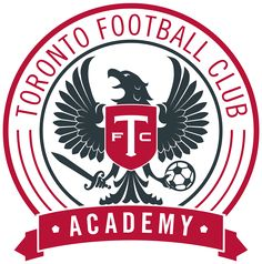 Toronto FC Academy Information Canada Soccer, Academy Logo, Toronto Fc, Sports Team Logos, Rough Riders, Football Team, Logo Inspiration, Branding Design, North York