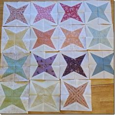 How to make nice foundation paper pieced stars