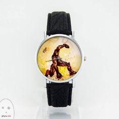 Iron Man Tasarım Kol Saati PiyuWatercolor