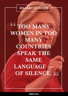 give women a voice! feminist quotes
