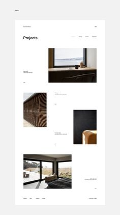 Norm architects on behance layout web, page layout design, website layout, website ideas Ideas De Portfolio, Site Portfolio, Design Portfolio Layout, Page Layout Design, Design Websites, Web Design Projects, Web Design Trends, Minimal Web Design, Minimalist Design