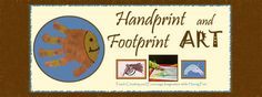 Handprint and Footprint Art Blog