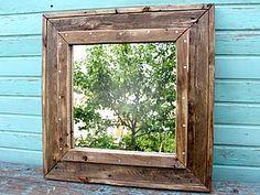 Делаем из поддона зеркало в стиле «лофт» - Ярмарка Мастеров - ручная работа, handmade