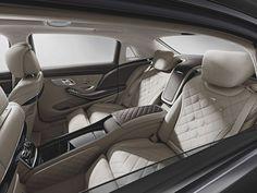 S600 Maybach Interior