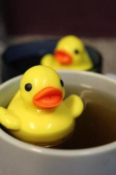 Tea Duckie Tea Infuser!