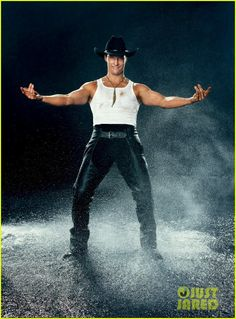 Mathew McConaughey - Magic Mike - Entertainment Weekly