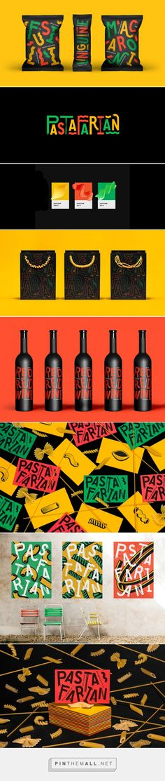 We Love This Fun Concept for Pasta Packaging and Branding — The Dieline | Packaging & Branding Design & Innovation News... - a grouped images picture - Pin Them All
