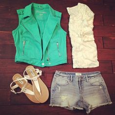 Best Casual Summer Outfits Part 9 Tween Fashion, Cute Fashion, Fashion Outfits, Fasion, Fashion Ideas, Summer Wear, Spring Summer Fashion, Spring Style, Casual Summer Outfits