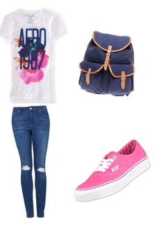 31a4f094aab Another really cute school outfit I made! School Wear