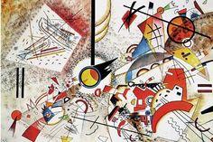 Kandinsky: acuarela animada (1923)