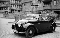 he first Volkswagen made for the civilian use began its continuous production in the summer of 1945. It was given the name 'VW Käfer', and sometimes called the VW Beetle. We all have known that in the later years that followed, the Volkswagen did not only become a popular car, but also an icon in the car industry.