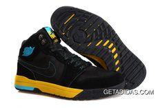 4dd41c2a855 Air Jordan 1 Trek Black Yellow Blue Shoes TopDeals