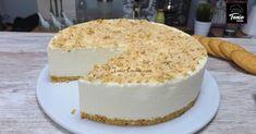 Tarta serradura o tarta fría portuguesa de leche condensada