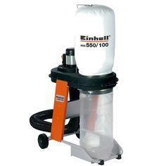 Einhell Dust Collector 550W,2900rpm,65Liter Bag,30kg ASA550/100