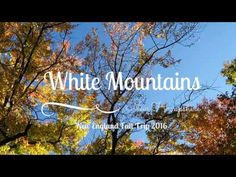Come follow us through the White Mountains, New Hampshire. Experience the fall foliage and the Kancamagus highway