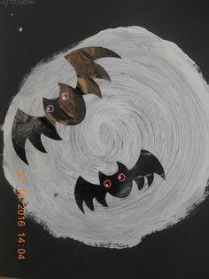Bat Signal, Halloween Crafts, Superhero Logos, Art, Halloween, School, Art Background, Kunst, Performing Arts