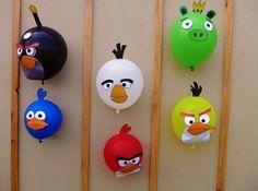 Angry Birds Reciclados, Decoración Reciclada para Fiestas Infantiles