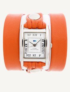 La Mer Watches: Orange