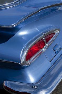 1959 Chevrolet El Camino Taillight - Car Images by Jill Reger