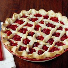 What's more delicious than homemade cherry pie. Get our classic recipe here: http://www.bhg.com/recipe/pies/cherry-cranberry-pie/?socsrc=bhgpin052412