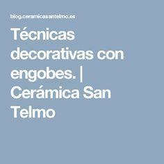 Técnicas decorativas con engobes. | Cerámica San Telmo