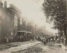 Images of Old Kentucky: the first electric trolley in Lexington in Old Photo Archive Vintage Pictures, Old Pictures, Old Photos, Kentucky Attractions, Fayette County, My Old Kentucky Home, The Good Old Days, Photo Archive, Electric