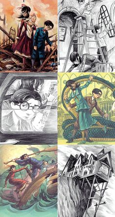 Brett is such an amazing artist! A Series Of Unfortunate Events Netflix, Les Orphelins Baudelaire, Things To Do When Bored, Lemony Snicket, Up In Smoke, Fandoms, Lost City, Kids Shows, Best Series