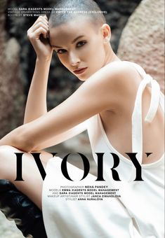 IVORY out now. #fashioneditorial #editorial #magazinedesign