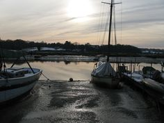 Wivenhoe quay (credit: mia! on Flickr).