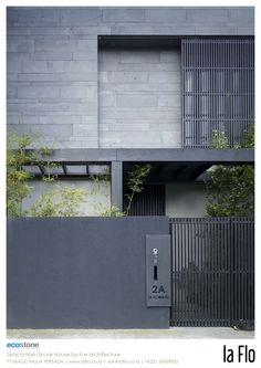 Design idea: façade. ‪#‎stoneveneer‬ Seacombe Grove House by B.E. Architecture