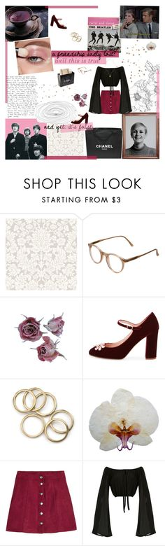 """""""you are your mother's only son and you're a desperate one ⚘"""" by d0ntblink ❤ liked on Polyvore featuring Cutler and Gross, Chanel, Kate Spade, H&M, Jessica de Lotz Jewellery and juliestaglist"""
