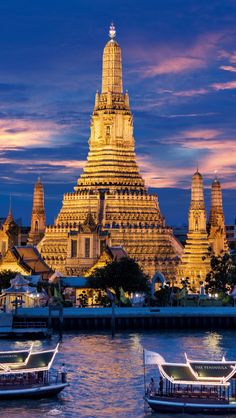 Temple-of-Dawn-Bangkok-Thailand | From @GuessQuest collection