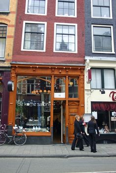 Maybe the best place for coffee in town 'De Koffie Salon' | #Amsterdam