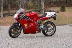 A unique AMA American Superbike homologation special,1996 Ducati 916SP WITH 955CC ENGINE Frame no. ZDM955W4*000038*