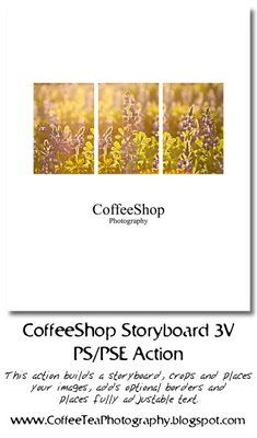 The CoffeeShop Blog: CoffeeShop 3V Storyboard Template and Action!