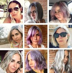 Transitioning to Gray Hair: Tips Based on Personal Story - Carlas Before Transi. - Transitioning to Gray Hair: Tips Based on Personal Story – Carlas Before Transitioning Hairstyle - Dye My Hair, New Hair, Daily Hairstyles, Bride Hairstyles, Curly Hair Styles, Natural Hair Styles, Ombre Hair, Long Silver Hair, Transition To Gray Hair