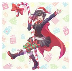 Browse the best of our 'RWBY' image gallery and vote for your favorite! Manga Anime, Anime Art, Yuri, Rwby Pyrrha, Cartoon N, Rwby Red, Christmas Drawing, Cosplay, Noel Christmas