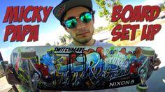 MICKY PAPA – BOARD SET UP & INTERVIEW: WATCH MORE BOARD SET UPS HERE… #Skatevideos #board #interview #micky #papa