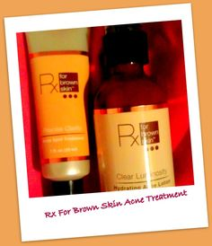 Rx for Brown Skin Hydrating Acne Lotion & Acne Spot Treatment | A Girl's Gotta Spa!