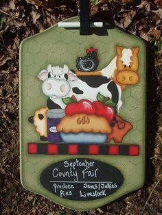 1081  Barnyard Chalkboard