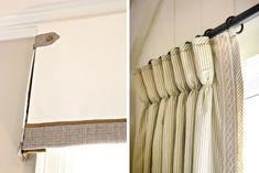 Стильная отделка штор своими руками
