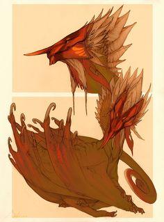 Character species sketches by IrisDesert on deviantART